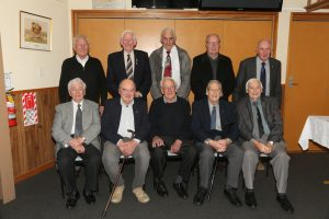 Past leaders ... Benvenue Probus Club Timaru past presidents (back, from left) Murray Vance, Merv Wells, Dave Galloway, Don Hayman, Robin Harrison, (front, from left) Dick Dodds, Ron White, Gary Dumble, John Ashwell and Jack Johnston.